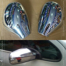 FIT FOR PEUGEOT 206 SW CC DOOR SIDE WING MIRROR CHROME COVER REAR VIEW CAP