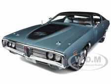 1971 DODGE CHARGER R/T HEMI GREY (GA4) 1/18 LTD.TO 1250PC BY AUTOWORLD AMM974