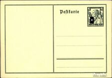 Duitse Rijk P256 Officiële Postcard gebruikt 1935 Duits. Emergency