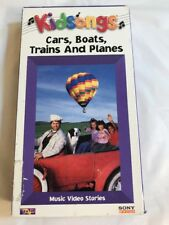 Kidsongs Cars Boats Planes and Trains VHS View-Master Sing-Along *RARE*