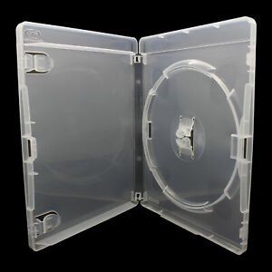 10 x 1 Fach AMARAY ORIGINAL Playstation 3 Hüllen für 1 CD PS3 Hülle Transparent
