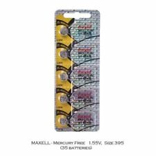 Maxell 395 SR927SW SR927 Silver Oxide Watch Batteries (35Pcs)