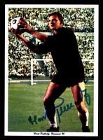 Horst Podlasly Autogrammkarte Hannover 96 Spieler 60er Jahre Original Signiert