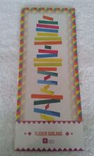 Talking Tables - New - Party - Wedding 3 Metre Flicker Garland - Fiesta Colours