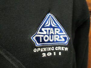 Star Tours 2011 opening crew cast member disneyland Men's L hoodie sweatshirt