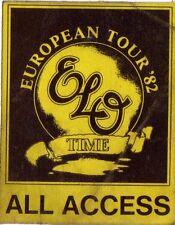 Electric LIGHT ORCHESTRA - 1982-pass-Time-European Tour-All Access