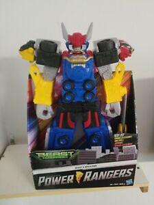 HUGE!!Saban's Power Rangers Beast Morphers 20 Inch BEAST X MEGAZORD with Sword