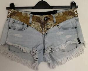 One Teaspoon Denim Shorts - Size 26 (8)