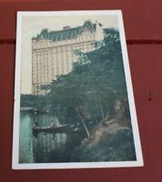 Antique White Border Postcard The Plaza at Central Park Lumitone Photoprint #43