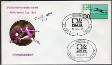 014 - Germany 1974 - FIFA - World Cup - Berlin - Match DDR - Chile 1:1 - Cover