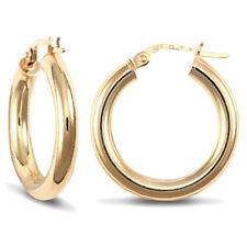 Pendientes de joyería de metales preciosos sin piedras amarillo oro amarillo