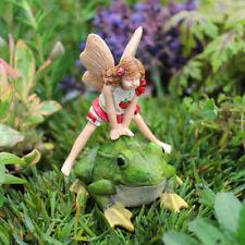 Miniature Dollhouse FAIRY GARDEN Accessories Fairy Leap Frog Leapfrog Lori Set