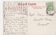 Captain Coxon, Arnold House, Havant 1906 Postcard, B251