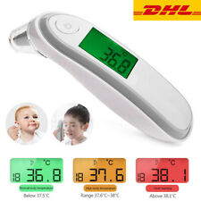 Thermometer Kontaktmessung LCD Fieberthermometer Baby Erwachsene Ohr Stirn Neu