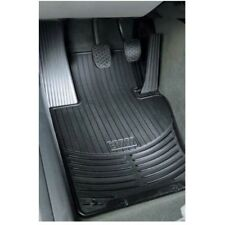 For BMW E39 5-Series Front Black Rubber All Weather Floor Mats OES 82550151196
