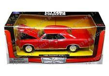 NEWRAY 1:24 W/B CITY CRUIZER - 1966 PONTIAC GTO Diecast Car Model 71855 Red