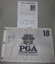 Jason Day Hand Signed 2015 Whistling Straits Golf Flag + Psa Dna Coa Buy Genuine