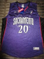 Kara Lawson #20 Sacramento Monarchs WNBA Finals Jersey LG L Autograph Signed NEW