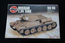 XM067 AIRFIX HO/OO 1/87 maquette tank char 01316 Russian T.34 Tank NB 1986