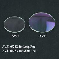 6x 8x Archery Scope Sight Power Lens 35/ 45mm Compound Bow Clarifiers Glass