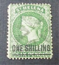 nystamps British St. Helena Stamp # 32 Used $30