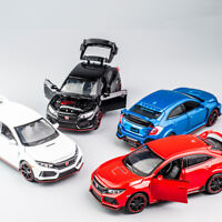 Honda 10th Civic Type R 1:32 Diecast Model Car Toy Collection Light&Sound Gift