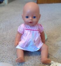 Baby Born Interactive Doll with Blue Eyes
