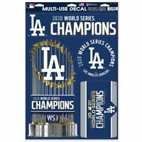 Los Angeles Dodgers 2020 World Series Champions 11'' x 17'' Multi-Use Decals