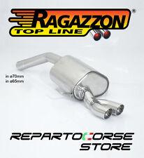 RAGAZZON SCARICO CON TERMINALI 2x70 ALFA 156 GTA 3.2 V6 BERLINA 250Cv 2002►