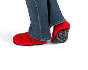 SISSEL® Linum Relax Comfort Schuhe, beheizbare Hausschuhe, Wärmehausschuhe