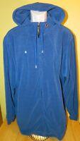 Men's Jordan Full Zip Hoodie Jacket Size Large Blue