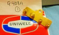 UNIWELD, 4 Valve Manifold Hose Bracket Assembly, (3) 1/4 & (1) 3/8 Male Flare
