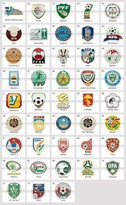 Metal Pin World Football Federations AFC Asian Confederation Part 2