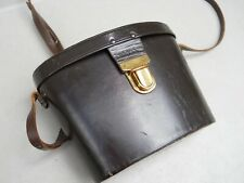 Carl Zeiss Original Leather Binocular Case 10x50 With Strap Etched RRS On Bottom