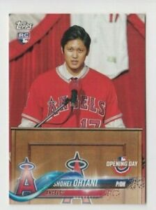 Shohei Ohtani 2018 TOPPS OPENING DAY ROOKIE CARD #200 LOS ANGELES ANGELS