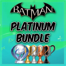 🔥 All Batman Games Platinum Trophy Service PSN/PS3/PS4/VITA 🔥