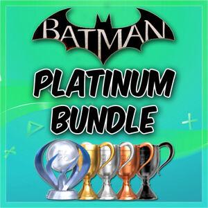 🔥 All Batman Games Platinum Trophy Service PSN/PS3/PS4/VITA 🔥