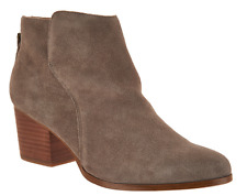 Sole Society Suede Ankle Boots with Zipper Booties River Mushroom Women Size 10