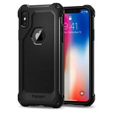 Spigen iPhone X Case Rugged Armor Extra Black