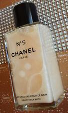 Más allá de rara enorme Chanel Paris Nº 5 Botella De Vidrio De Baño De Leche De Terciopelo