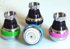 douchette pour robinet cuisine design 2 jets avec set 3 couleurs