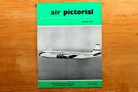 Vtg Original Air Pictorial Magazine 1959 March Details of the X-15 Spacecraft