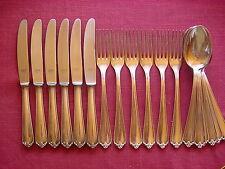 BSF 104 Dessertbesteck 6 Personen 18 teilig 90 versilbert