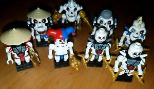Lego Ninjago Skelett Figuren zum Auswählen[NJO 021,022,019,025,024,017,027]