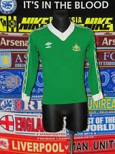 """5/5 Husqvarna FF adults S 34""""/36"""" 1970's football shirt jersey trikot skjorta"""