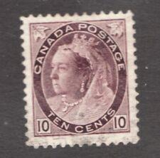 #83 - Canada - 1898 -  10 Cent - Used  - F/VF - superfleas