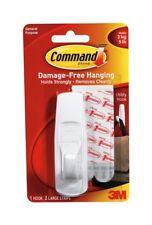 Command 3m Adhesive Hook Large White 17003