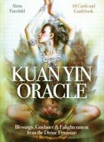 Kuan Yin Oracle Tarot CARD DECK & Booklet Set BLUE ANGEL