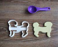 Shih Tzu Thin Cookie Cutter Dog Pup Pet Treat puppy Pupcake topper