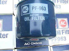 PF963   25011296   ACDELCO  OIL FILTER